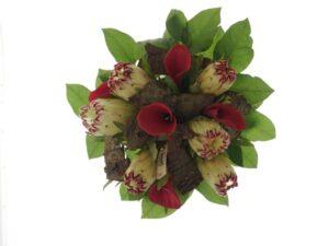 protea og kalla blomsterbuket 1