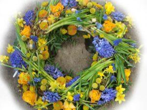 forårs natur krans