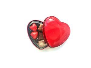 hjerte æske